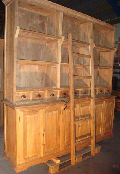 Kasten collection antiek koloniaal - Briketten badkamer ...
