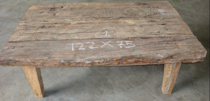 Nr 1 l122 x b 75 x h 45 cm salontafels collection antiek koloniaal - Briketten badkamer ...